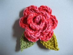 Crochet The perfect Rose - Tutorial