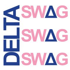 Tri Delta, Sorority Symbol Design, T-Shirt *All designs can be customized for your organization or chapter's needs!