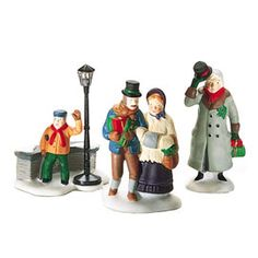 "Department 56: Products - ""Christmas Carol Christmas Morning Figures"" - View Accessories"