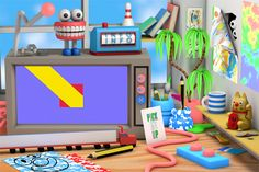 It's Nice That | Fantastically bold new work from animator and illustrator Jack Sachs