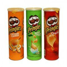 Pringles ''stashcan'' is de originele chips bus van Pringles met een holle ruimte er in.