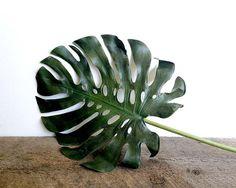 Tropical, Monstera plant, Tropical leaf, monstera deliciosa, Greenery, Faux plant, Tropical plant, Beach decor, Artificial plant, Fake plant