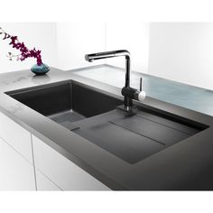 BLANCO SOP1 Metra X Silgranit Single Bowl Sink with Drainboard | Lowe's Canada