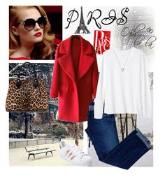 """""""Pack & Go to Paris🗼"""" by whims-and-craze ❤ liked on Polyvore featuring Christian Dior, Chronicle Books, Dsquared2, Banana Republic, Diane Von Furstenberg, adidas and Links of London"""