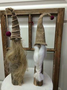 Christmas Things, Christmas Ideas, Wood Turning, Gnomes, Felting, Ladder Decor, Scandinavian, School, Crafts