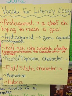 Prompts For Writing A Literary Essay In Grade   Writing