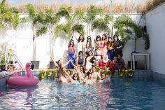 Pool parties are a great way to kick start summer weddings. You can also ditch the typical youngsters and cocktail party and have a pool party instead! The soothing blue pool cools up the entire atmosphere and we all know how amazingly fun they are.While pool parties are refreshing and can make your Free Wedding, Plan Your Wedding, Blue Pool, Wedding Planning Websites, Fall Wedding Decorations, Best Wedding Photographers, Cool Pools, Wedding Vendors, Celebrity Weddings