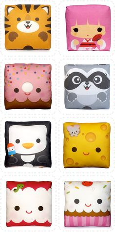mini-pillows...why do i not have ALL of them!?