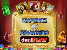 Da Vinci Diamonds Dual Play is a Jewels and Gems themed slot developed by IGT. A 5 Reels slot action packed with 40 paylines and bets starting from 40.00 to 800.00 coins with a Jackpot of 5000 coins. Read about the IGT Da Vinci Diamond Dual Play online slot in our review which includes a full list of features, bonus rounds, free spins and play Da Vinci Diamond Dual Play allowing you to try it out for free. We also recommend the best places to play for real with our selected online casino…