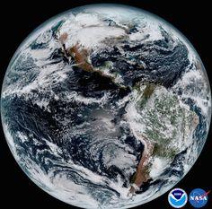 Estas son las mejores imágenes satelitales de la Tierra hasta el momento