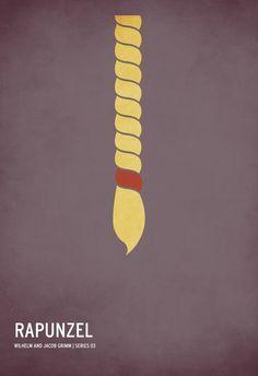 Minimalist Posters of Children's Books - Imgur