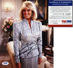 LINDA EVANS Hand Signed 8x10 - DYNASTY - PSA/DNA - UACC RD #289 in Collectibles, Autographs, Television | eBay