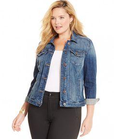 b79df49658979 Lucky Brand Jeans Plus Size Denim Jacket My Christmas Wish List