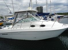 Professionally maintained with very low hours this 2001, 270 Wellcraft boat is the Coastal Tournament Edition Sportfisher! Twin Yamaha 225 OX66 Saltwater series outboards have always been professionally maintained. They look and work like brand new engines. There is a Marcerator pump, windlass anchor and shore power. This boat features 1 live well, 2 wet wells and prep sink. The boat sleeps 4 comfortably, with a convertible v-berth with mid cabin.