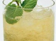 Virgin Mint Julep- can sub iced tea for ginger ale or use both tea and ginger ale in parts- adjust sugar accordingly