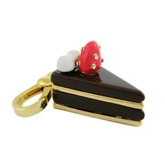 Juicy Couture Triangle Chocolate Cake Charm