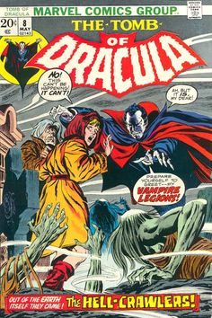 Tomb of Dracula # 8 by Gene Colan