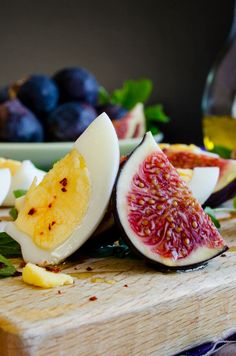 Fig and Egg Salad   #salad #fig #egg #breakfast   giverecipe.com
