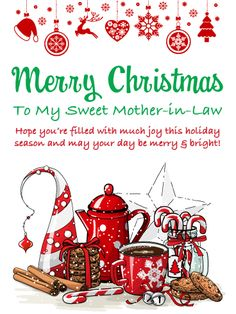 Classic Handmade Christmas Card Filled With Merry And Bright Wishes For All