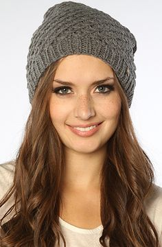 The Deanna Knit Beanie in Gray by Goorin Brothers
