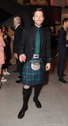 Richard Rankin attends a party to mark the reopening of the Imperial War Museum on July 17, 2014 in London, England.
