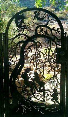 A nice garden door