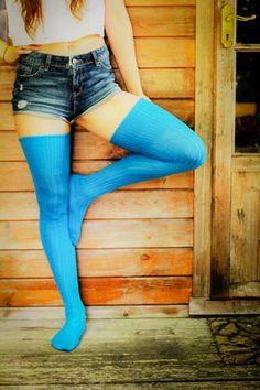 Long Tall Sally, Thigh High Socks, Thigh Highs, Knee Socks, Knee Highs, Bridal Intimates, Slouch Socks, Opaque Stockings, Socks