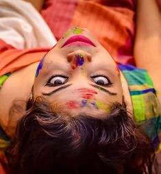 Image may contain: one or more people and closeup Festival Photography, Girl Photography Poses, Holi Girls, Holi Images, Holi Special, Beauty Full Girl, Beautiful Saree, Girls Be Like, Indian Beauty