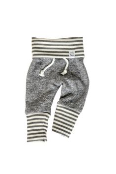 Hey, I found this really awesome Etsy listing at https://www.etsy.com/listing/206196831/grey-stripe-sweatpants-baby-heather
