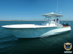 The Winter 27 is a highly customized center console, featuring classic Carolina boat styling with an outboard power package.