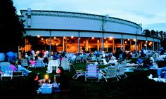 First job. I was an usher at this place. The Berkshire Music Center at Tanglewood.