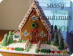 Image result for sassy beautimus gingerbread house