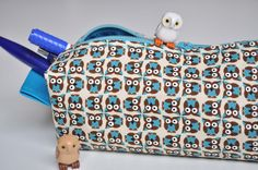 pencil case owl by Oontje, via Flickr