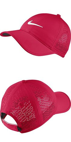 368a3c2130ee5 Nike Women s Perforated Golf Cap (Variety Of Colors Available) (Racer Pink)