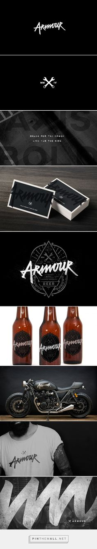 Armour on Behance #branding #identity #design