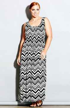 City Chic 'Jamaica' Maxi Dress (Plus Size) | Nordstrom