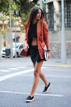 Zina Charkoplia - FashionVibe - Terracotta