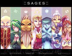 :: S A G E S :: by UNIesque.deviantart.com on @DeviantArt