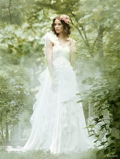 secret garden wedding dresses