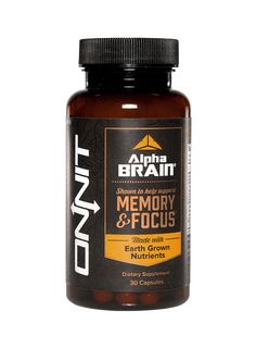 Designed to help the body with improved memory, focus, processing speed, and flow state.