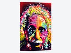 Einstein II by Dean Russo 1-piece Canvas Art