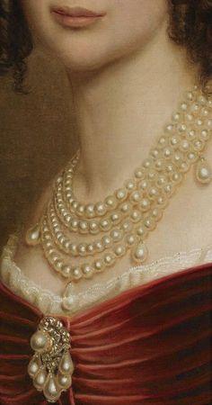 "ivy-rosa: ""Joseph Karl Stiele, Maria Anna of Bavaria, 1842, detail """