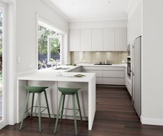 41 One Of The Most Overlooked Solutions For Small U Shaped Kitchen Remodel Layout 122 U Shaped Kitchen Interior, Kitchen Design Open, Luxury Kitchen Design, Interior Design Kitchen, U Shape Kitchen, Small U Shaped Kitchens, Small Modern Kitchens, Kitchen Modern, Smart Kitchen
