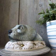 Faux Taxidermy Head Melancholy Sea Lion от DecouDermy на Etsy
