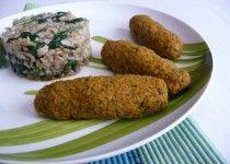 Pastéis de cenoura e manteiga de amendoim - BIMBY