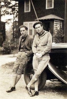 men in breeches - 1930s