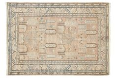 """5'8""""x7'10"""" Pefka Rug, Tan Tan Rug, Rugs In Living Room, Room Rugs, One Kings Lane, 5 S, Vintage World Maps, Textiles, Classic, Home Decor"""