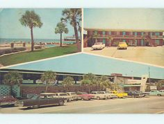 Pre 1980 Old Cars Driftwood Motel West Panama City Beach Fl M2922