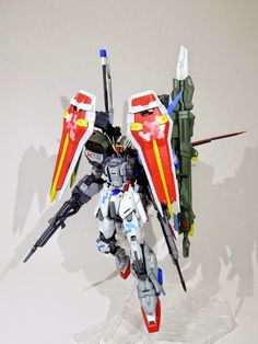 GUNDAM GUY: MG 1/100 GAT-X105 Perfect Strike Gundam Assaultshroud - Custom Build