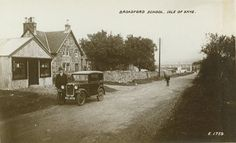 Postcard of Broadford School, Skye.